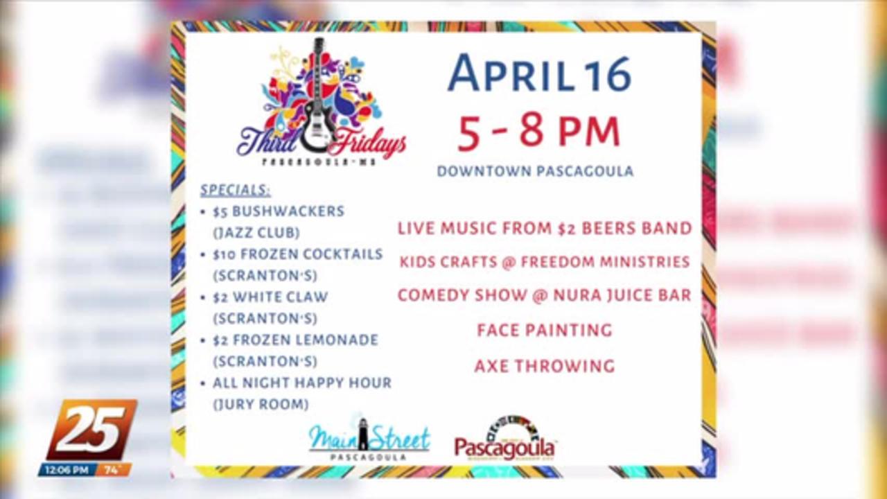City of Pascagoula welcomes back Third Fridays