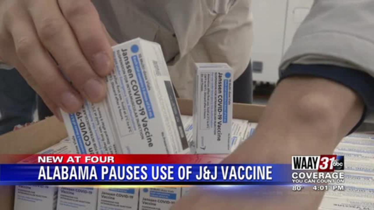 Alabama pauses use of Johnson & Johnson coronavirus vaccine after federal recommendation