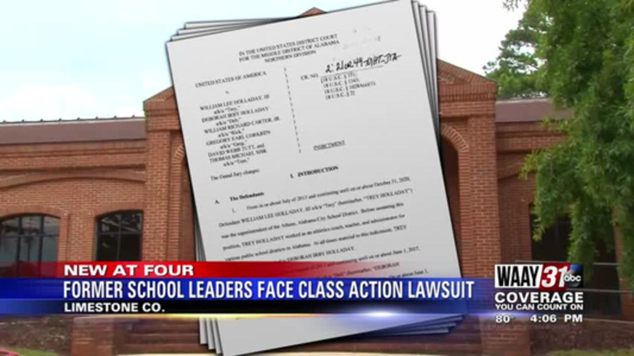 Former Limestone County school leaders face class action lawsuit