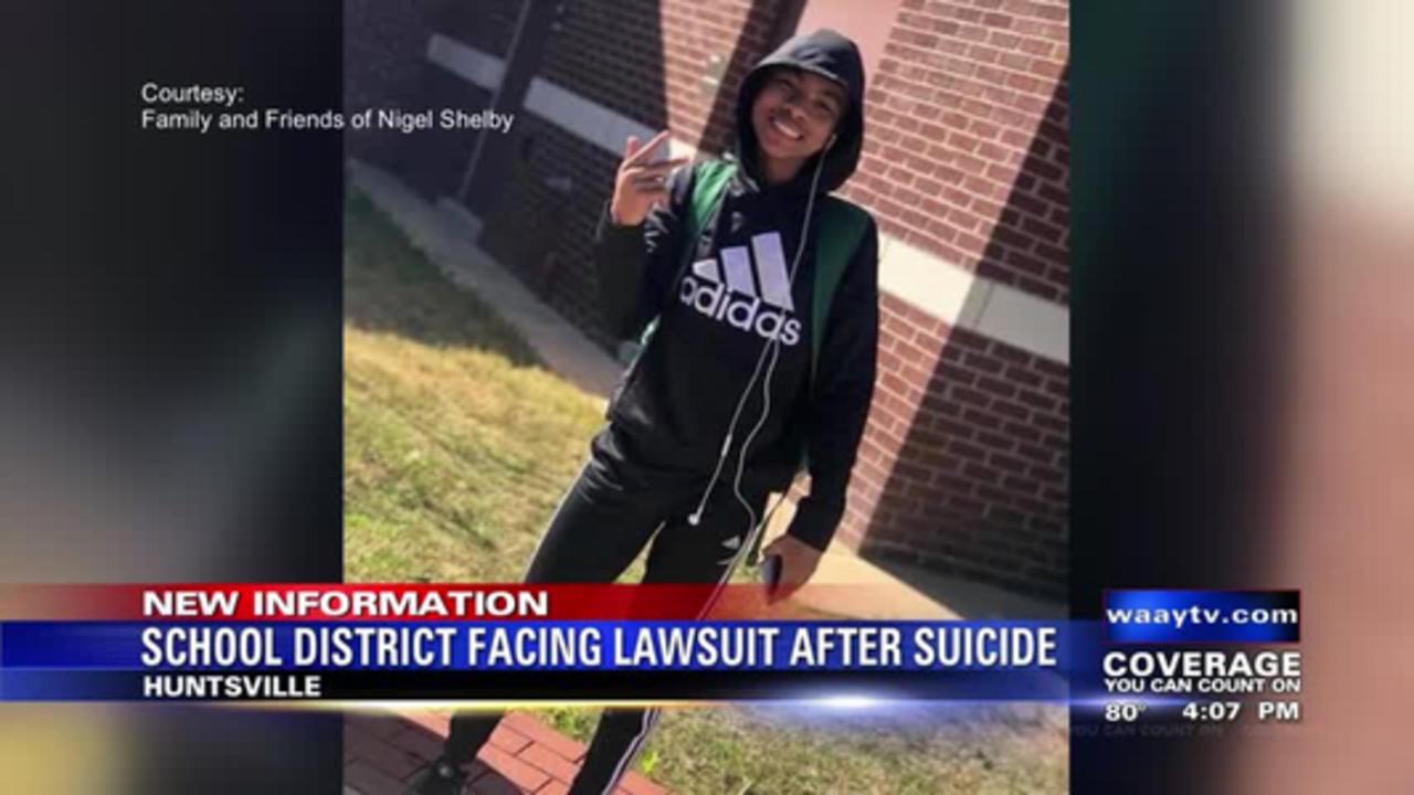 Huntsville school district facing lawsuit after suicide