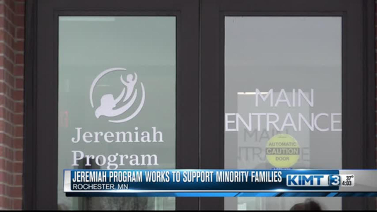 Jeremiah Program Works To Support Minority Groups