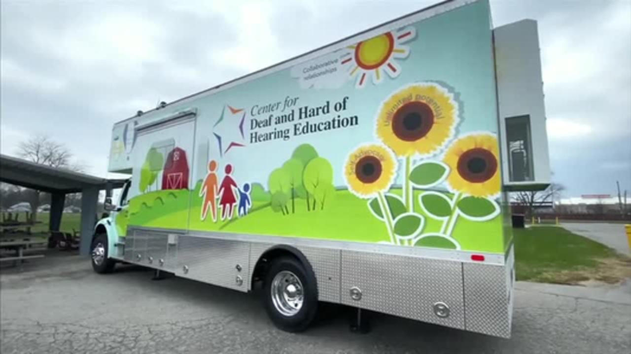 Mobile unit will help Indiana students who are deaf or hard of hearing
