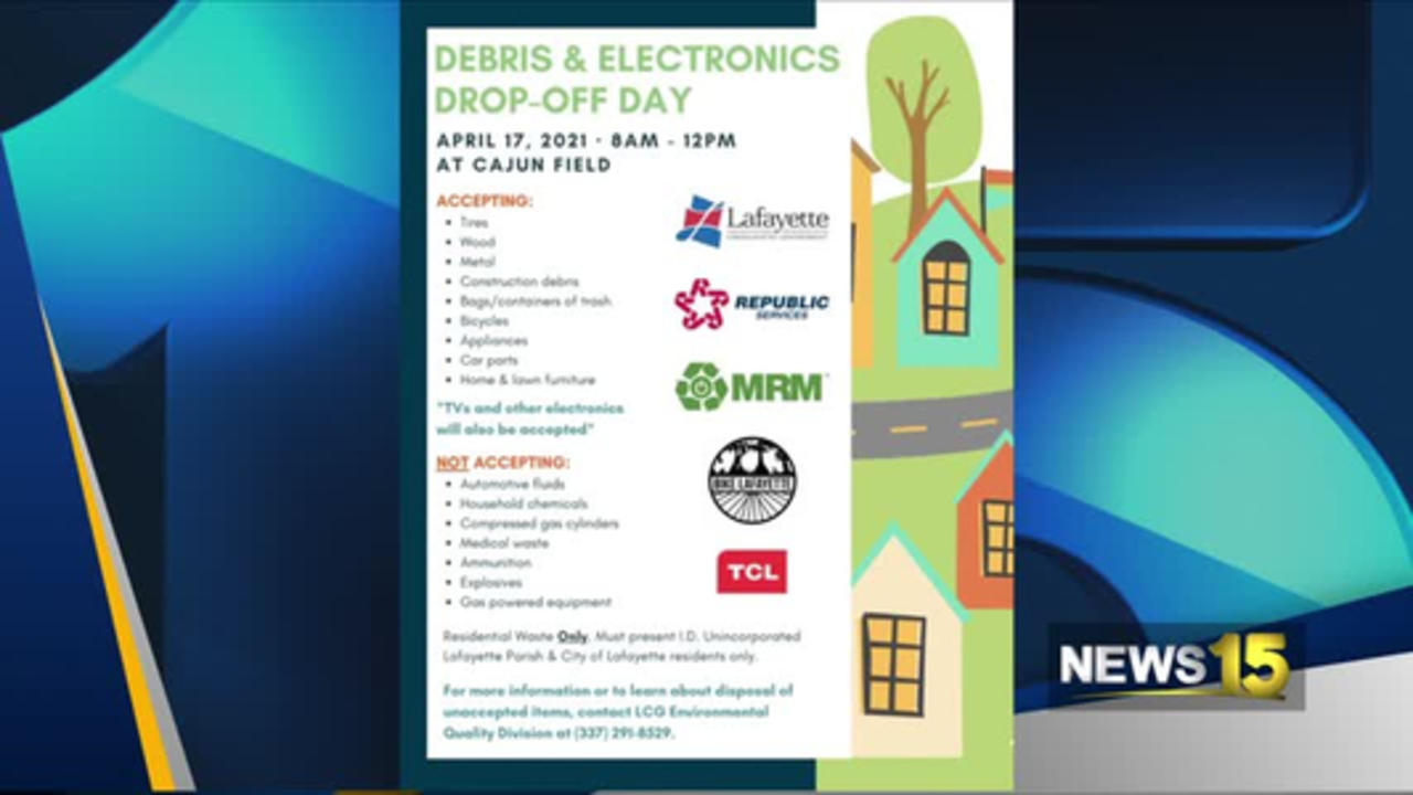 LCG Debris Collection Drive This Weekend