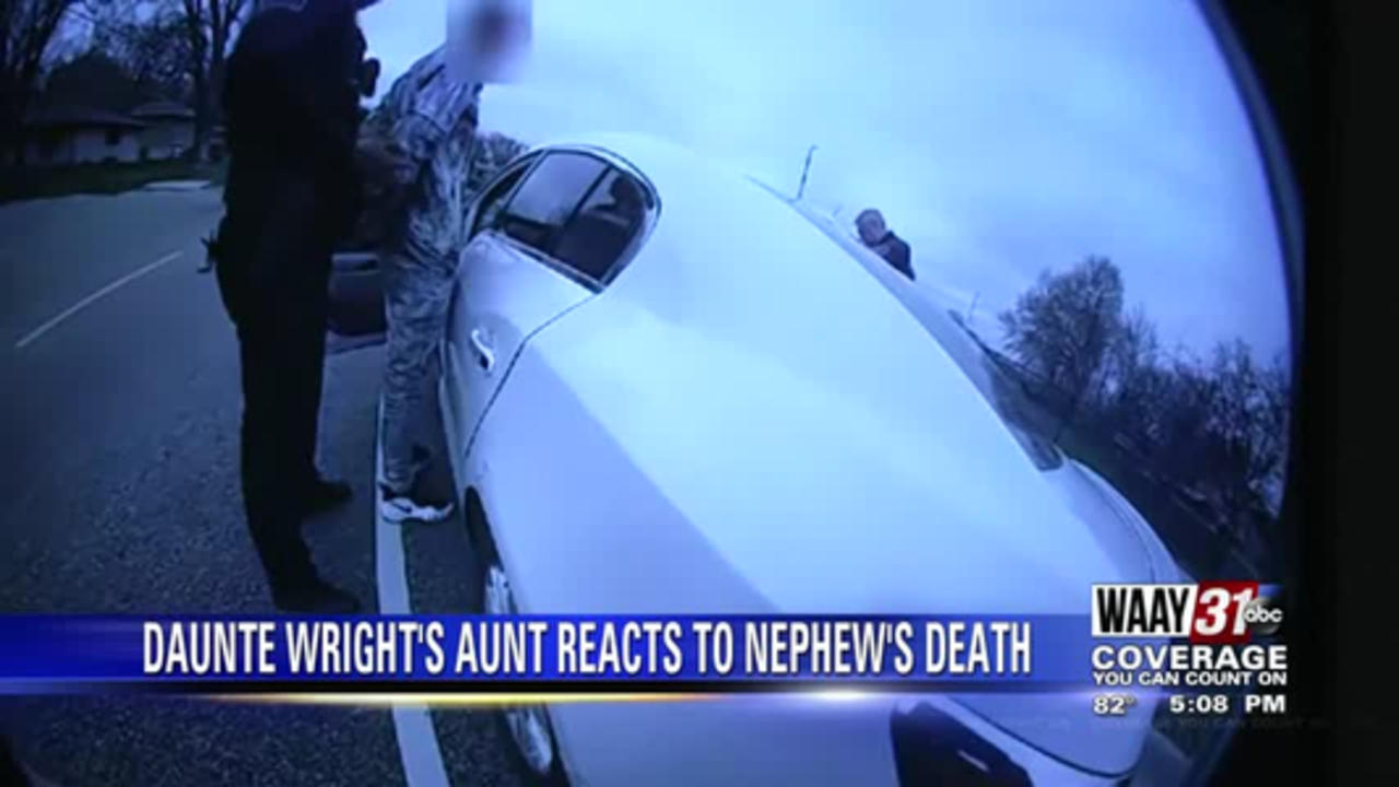Daunte Wright's Aunt Reacts to Nephew's Death