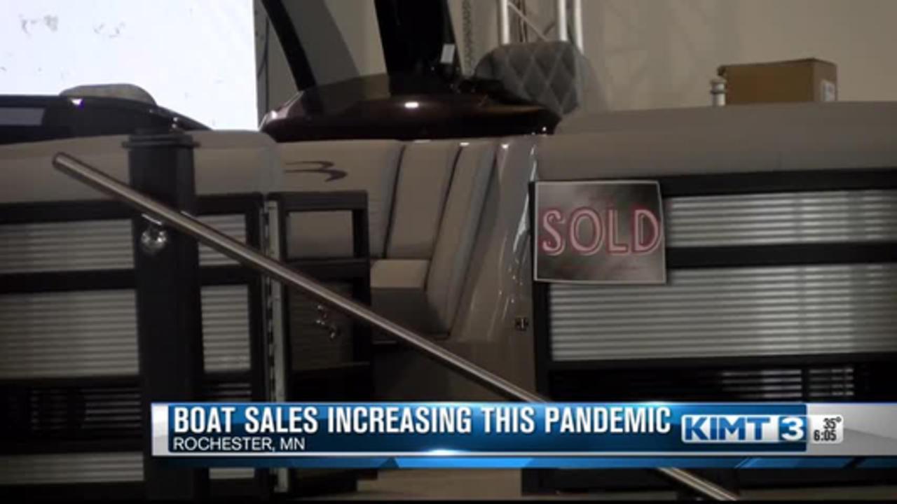 Boat sales rising amid pandemic