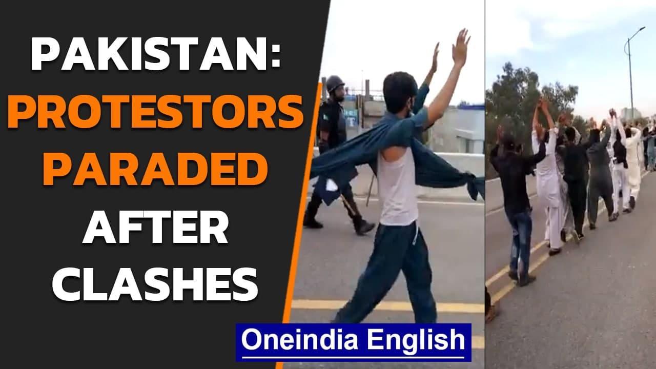 Pakistan protestors paraded | Violence in Lahore, Karachi | Oneindia News