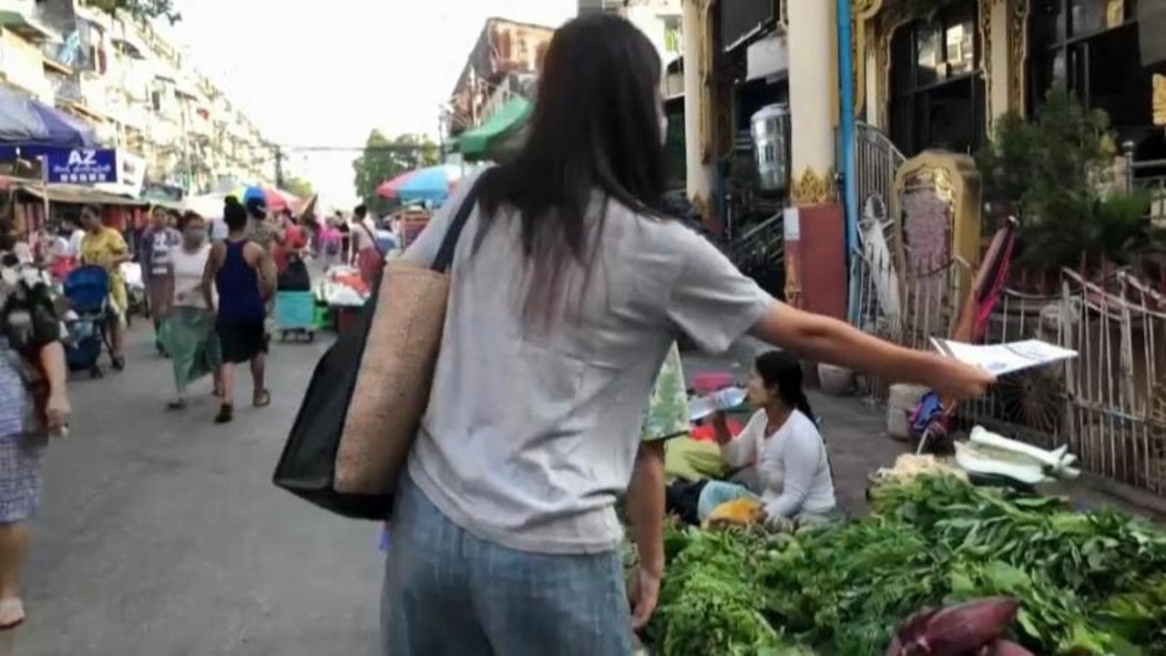 Secret newsletter keeping communities informed in Myanmar