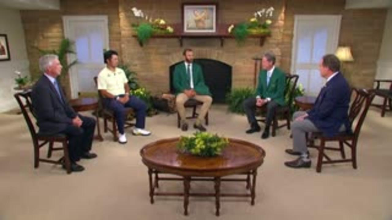 Matsuyama presented with Green Jacket