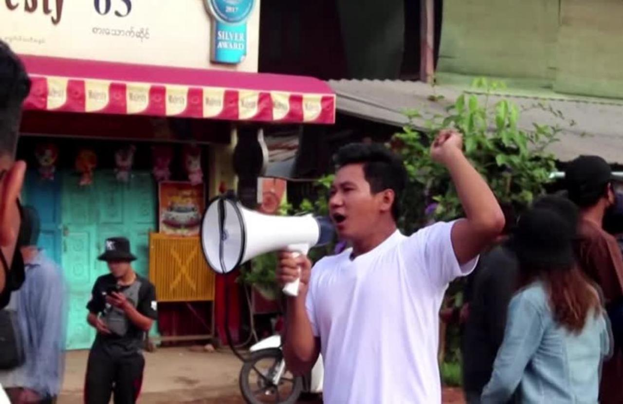 Myanmar coup: Protests cancel New Year events