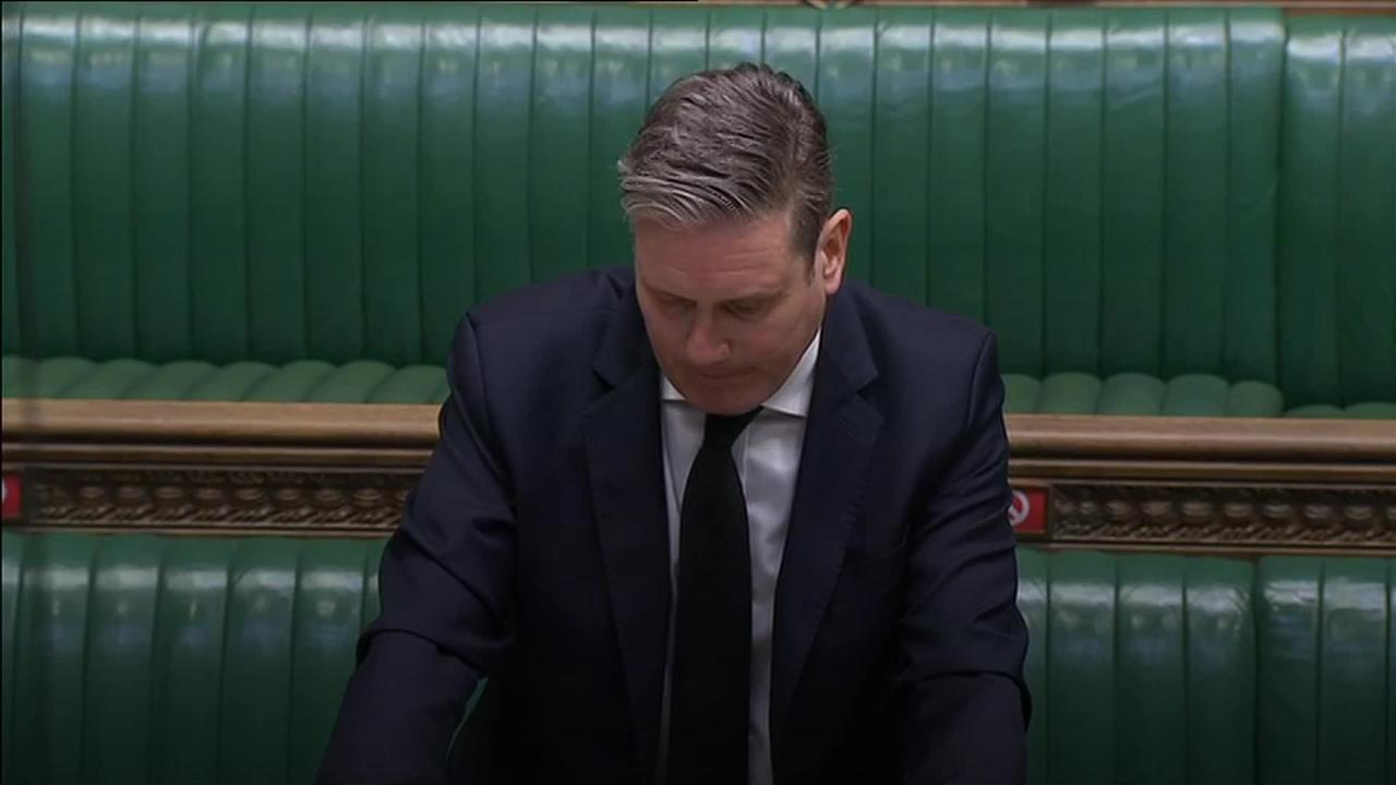 Johnson and Starmer clash over Greensill lobbying scandal during PMQs