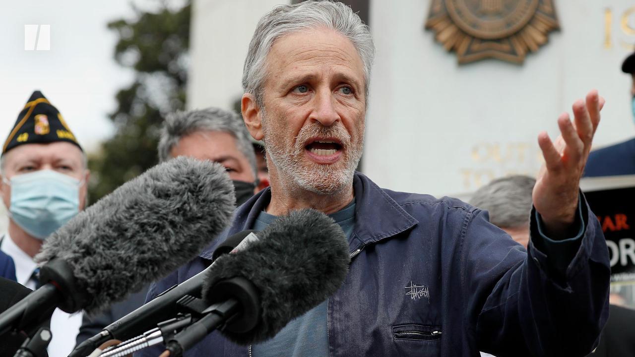 Jon Stewart Fights For Vets
