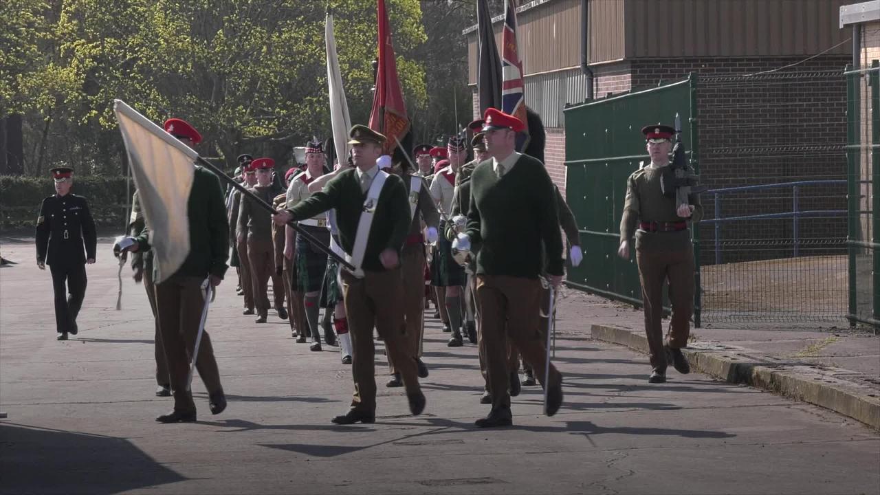 Armed Forces rehearse for Duke of Edinburgh's funeral