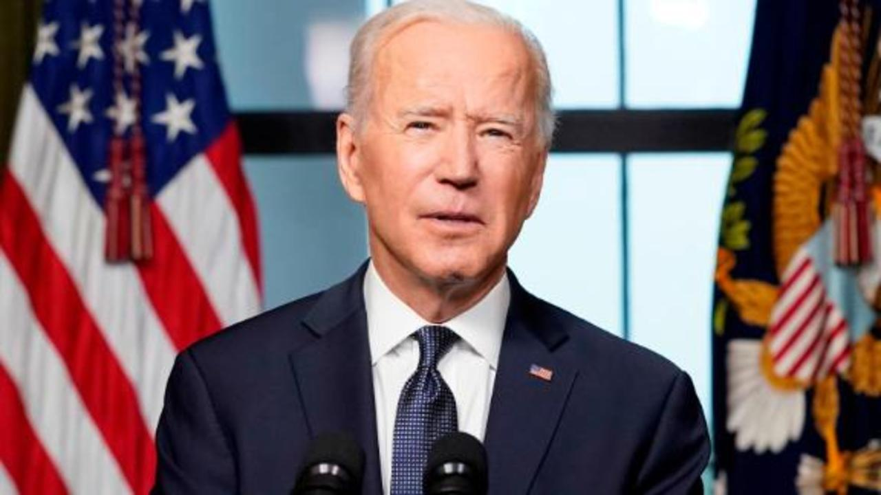 Joe Biden explains decision to remove troops from Afghanistan