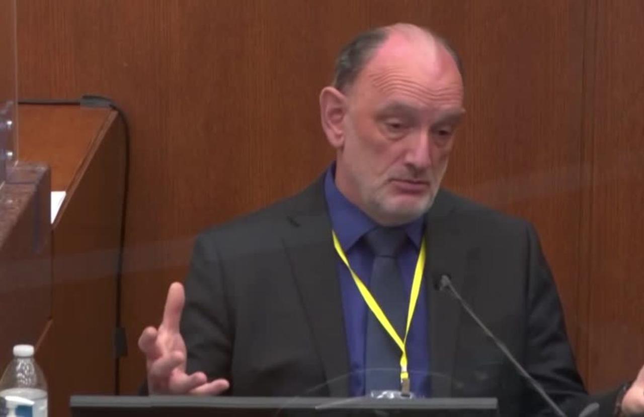 Defense expert calls Floyd death 'undetermined'