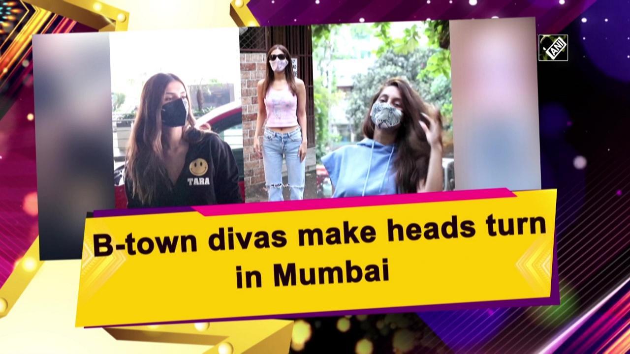 B-town divas make heads turn in Mumbai