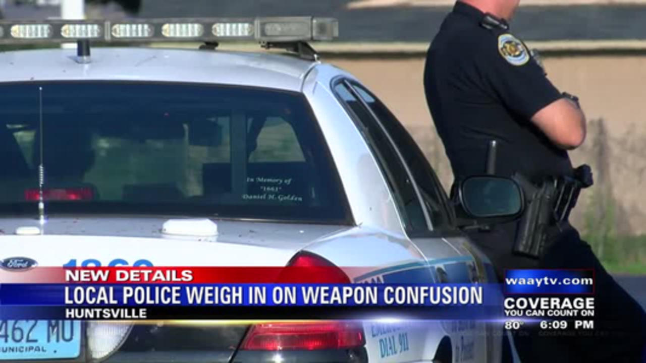 Local Police Weigh In On Weapon Confusion