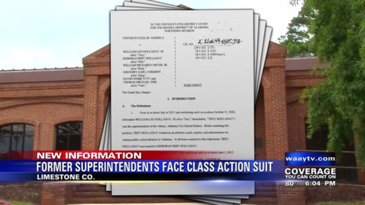 Former Superintendents Face Class Action Suit