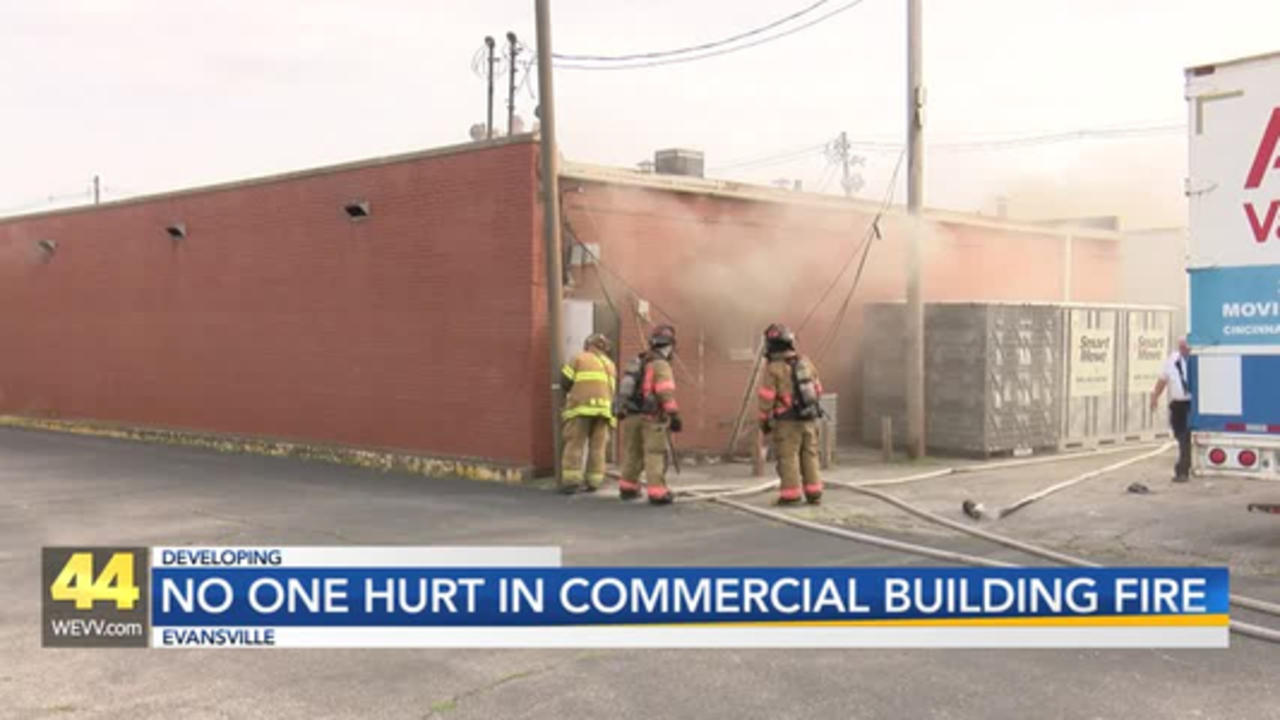 Working Commercial Fire in Evansville