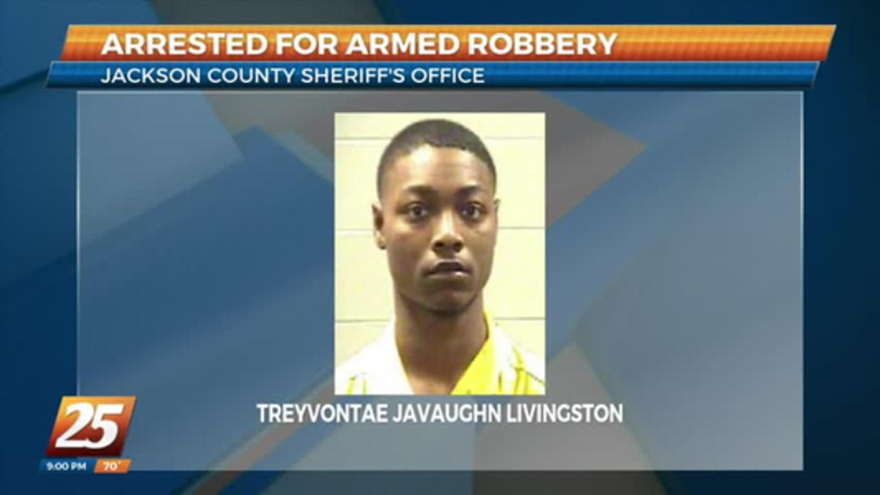 17-year-old charged as an adult in armed robbery in Jackson County
