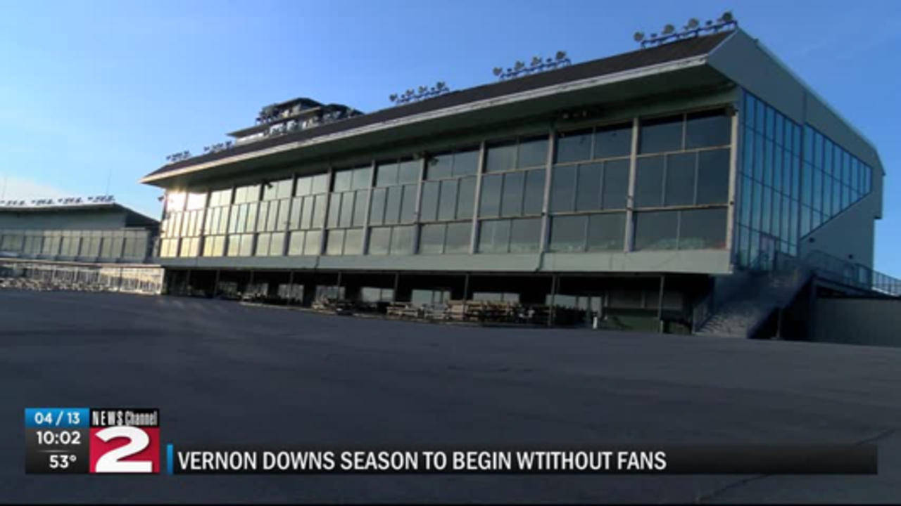 Vernon Downs to Open Without Fans