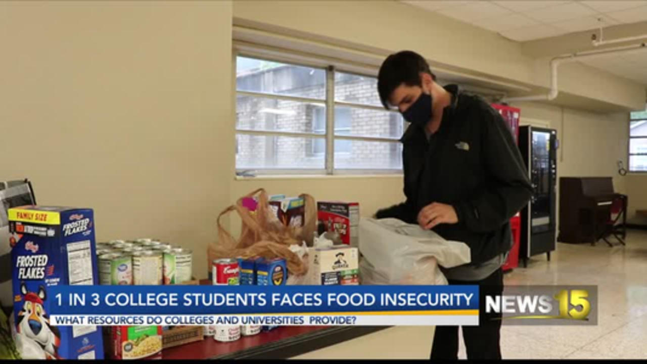 1 in 3 college students faces food insecurity