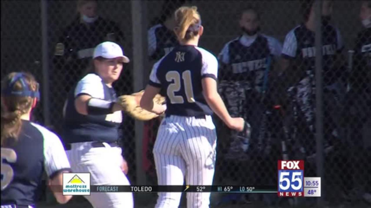 High School Softball: Norwell cruises past Concordia