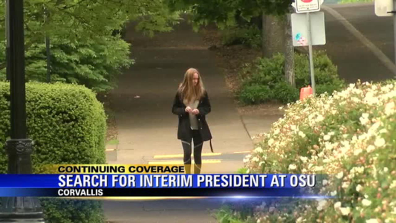 OSU considers Cascade campus VP for interim president role