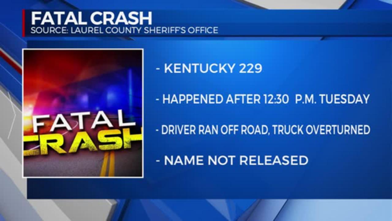 11pm Laurel County Fatal Crash 04.13.2021