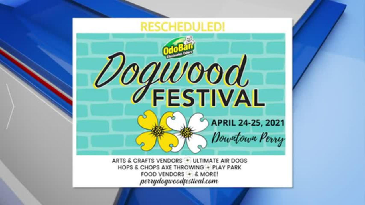 32nd annual Dogwood Festival in Perry rescheduled