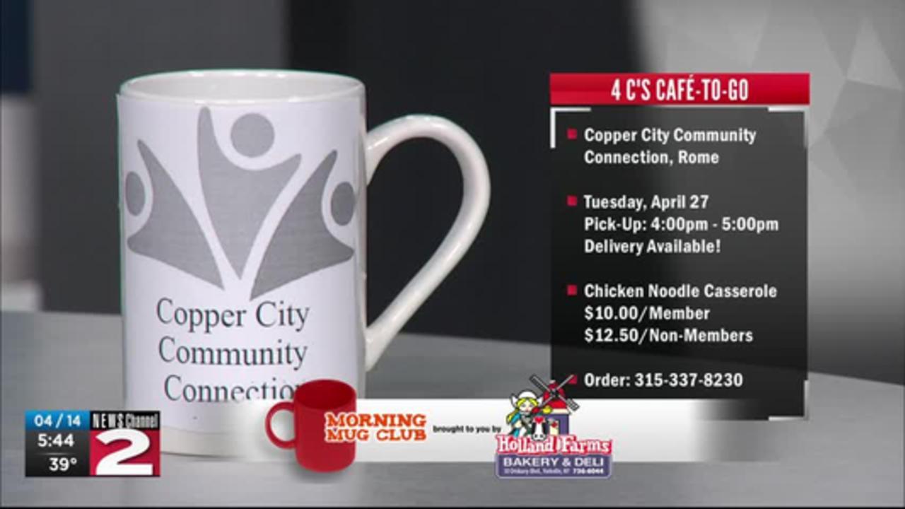 Mug Club: 4 Cs Café-to-Go hosting Chicken Noodle Casserole Dinner
