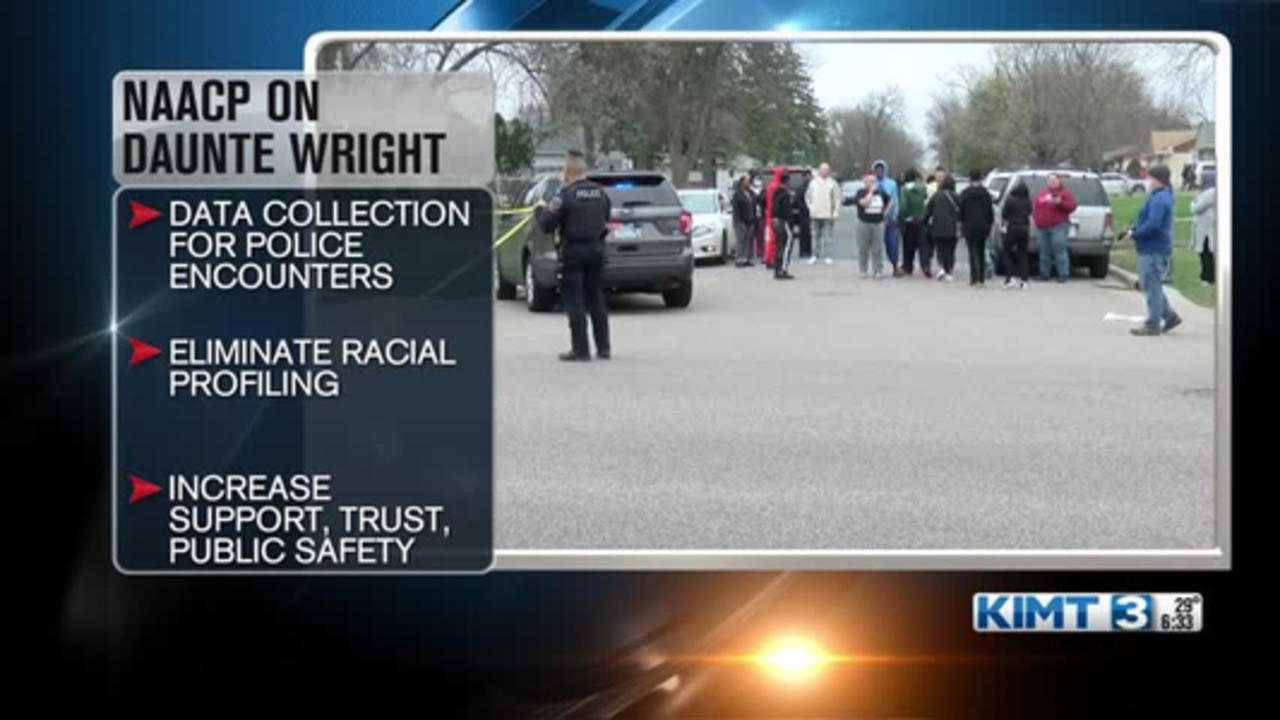 Rochester NAACP reacts to death of Daunte Wright