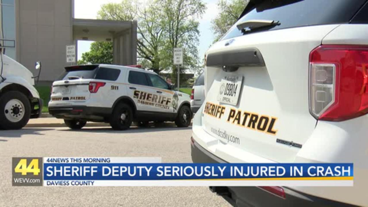 Daviess County Sheriff's Deputy Seriously Injured in Crash