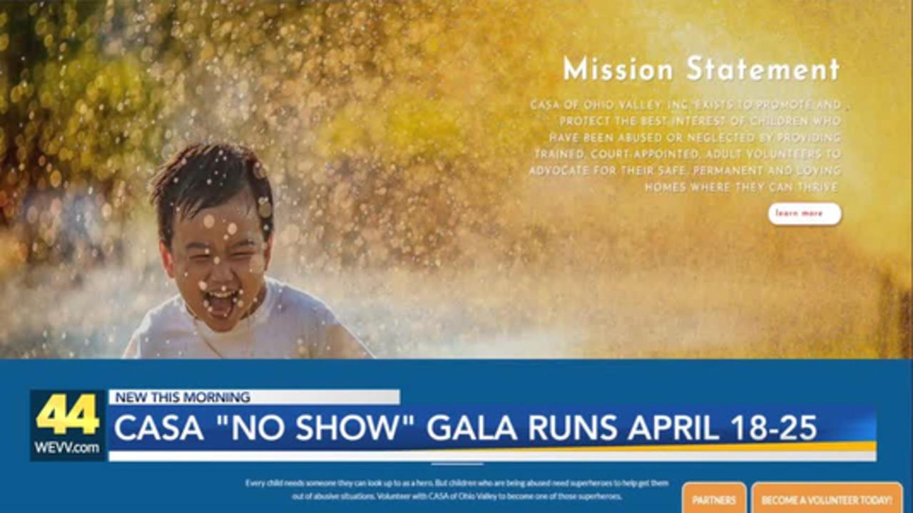 CASA 'No Show' Gala Kicks Off Next Week
