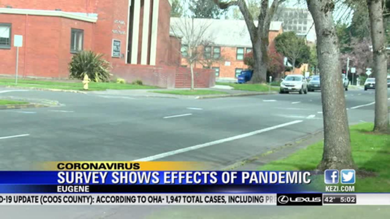 Survey reveals effects of pandemic on Eugene residents