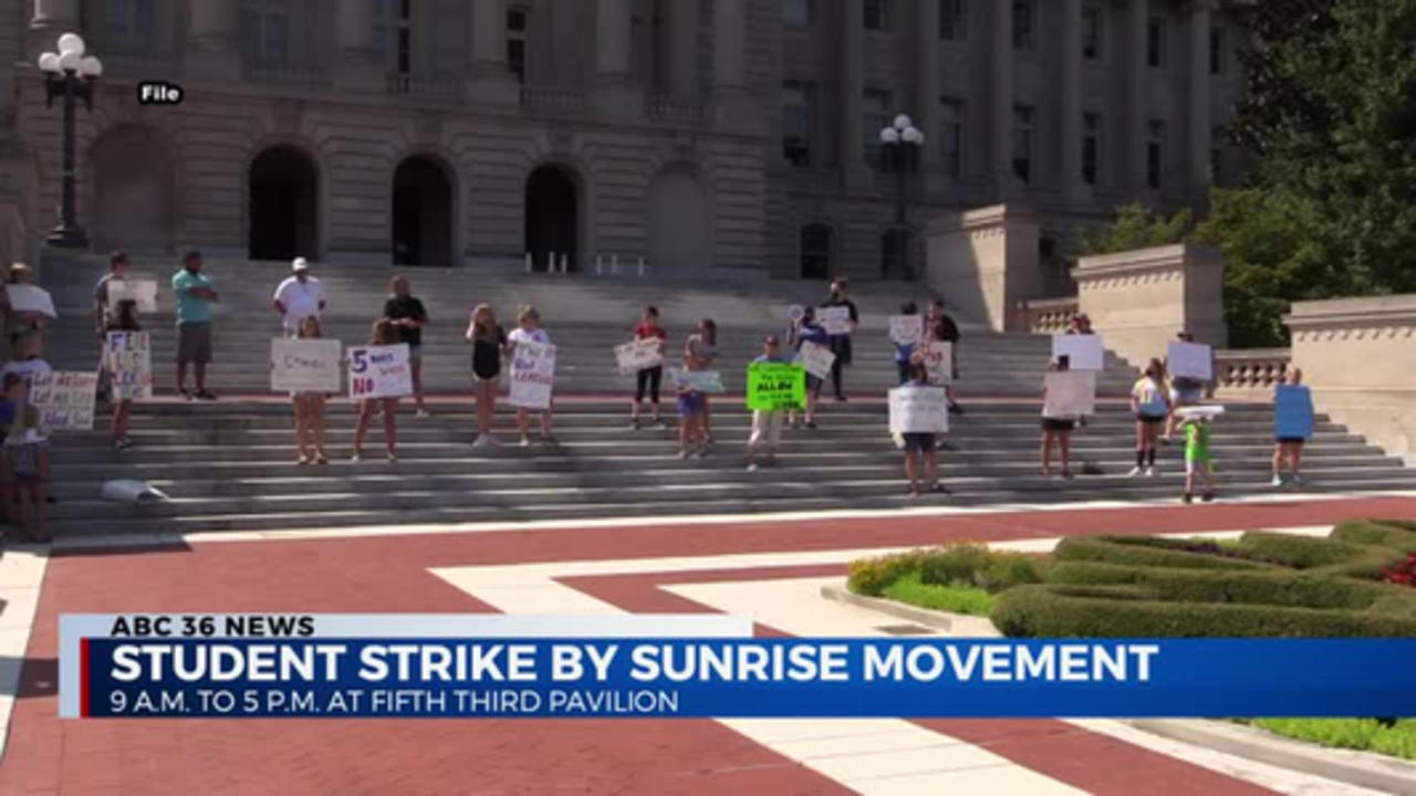 Student Strike by Sunrise Movement 4/14/2021