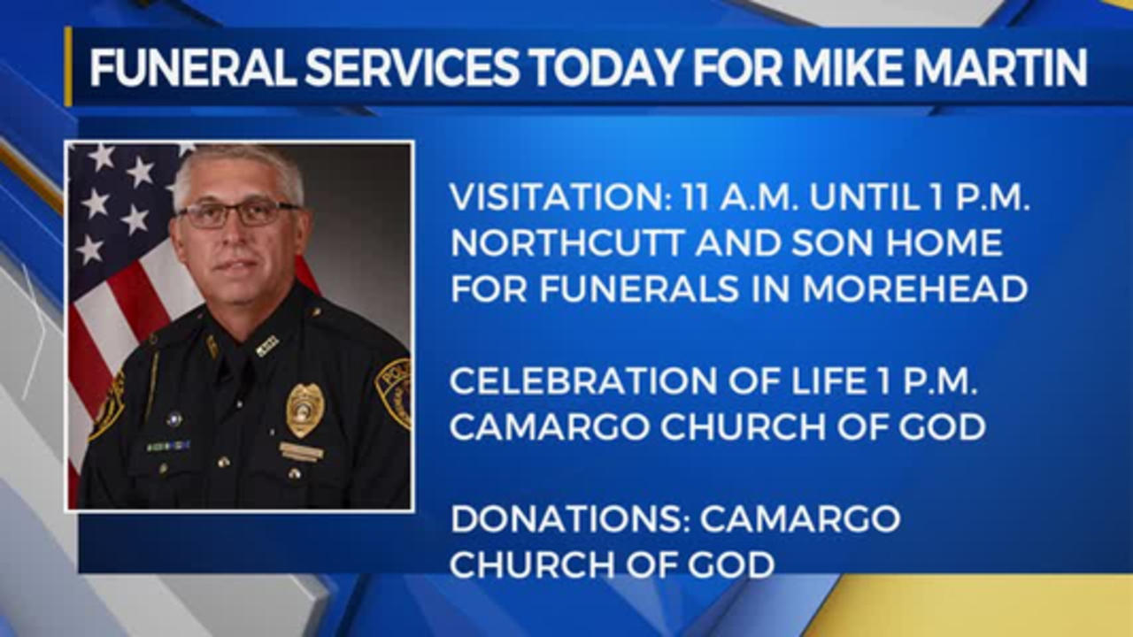 Funeral for Morehead Officer