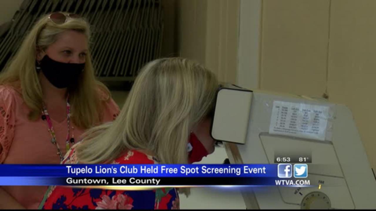 Lion's Club hosts free vision screening