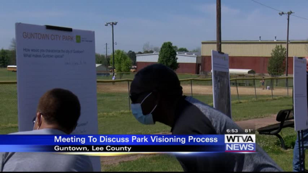 Guntown hosts 1st City Park Visioning public meeting