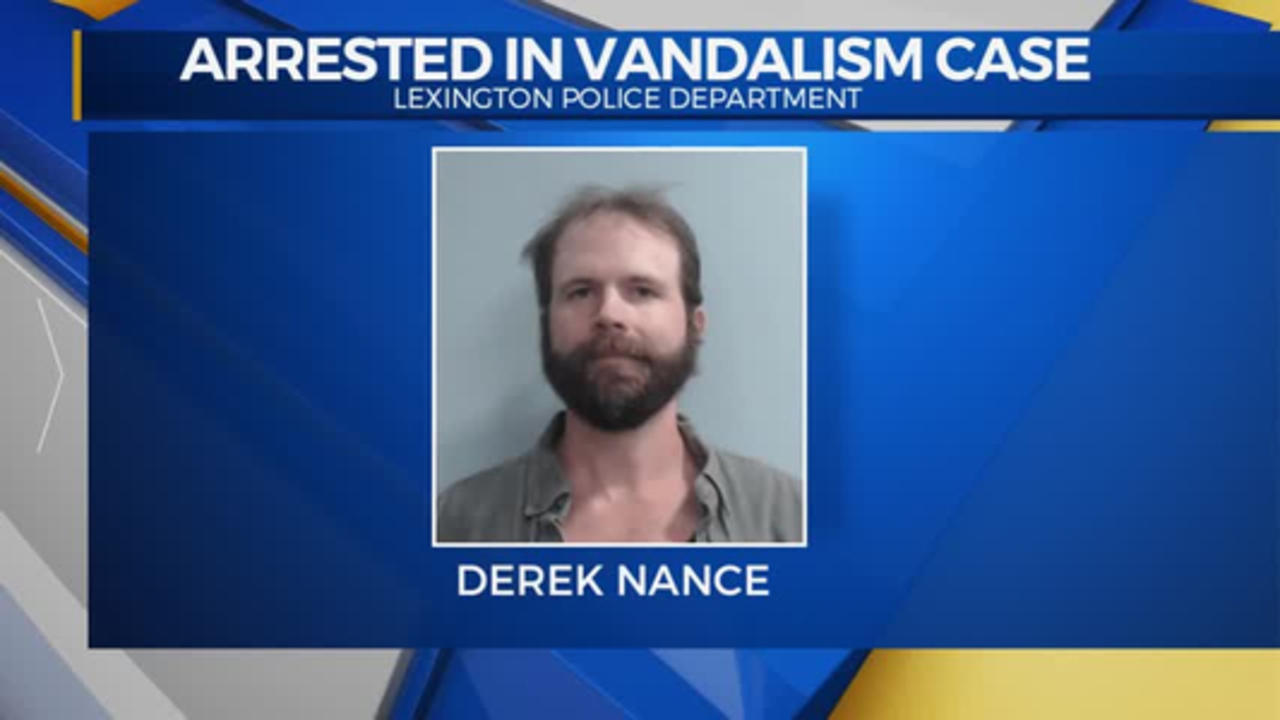 Station Vandal Derek Nance Arrested 4/14/2021