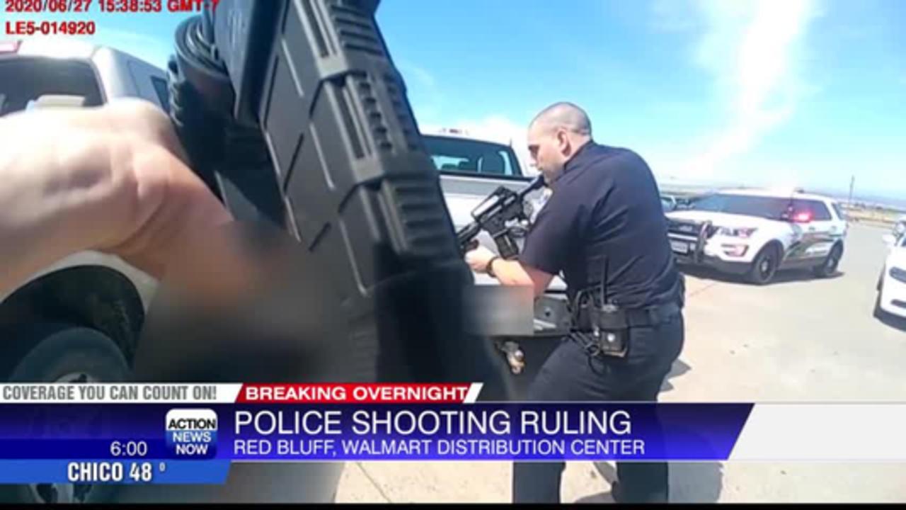 DA: Shootout between Red Bluff police & Walmart distribution center gunman 'lawful'