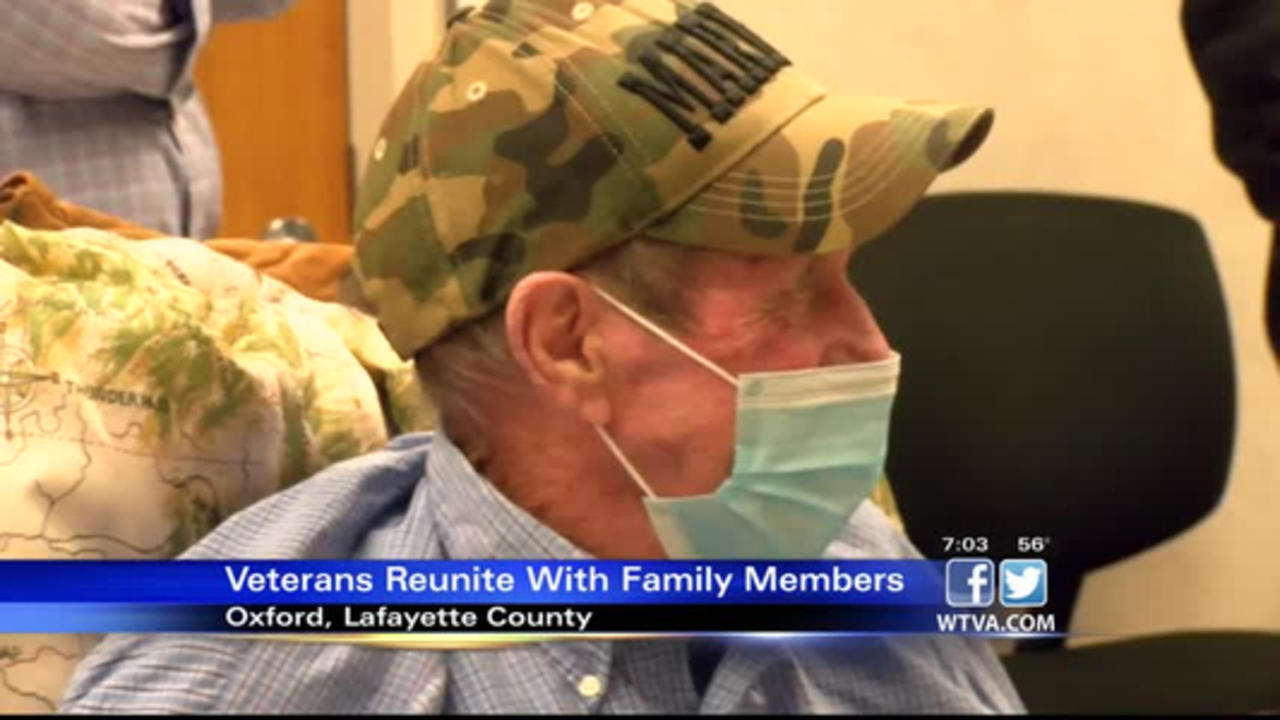 Veterans reunite with their loved ones