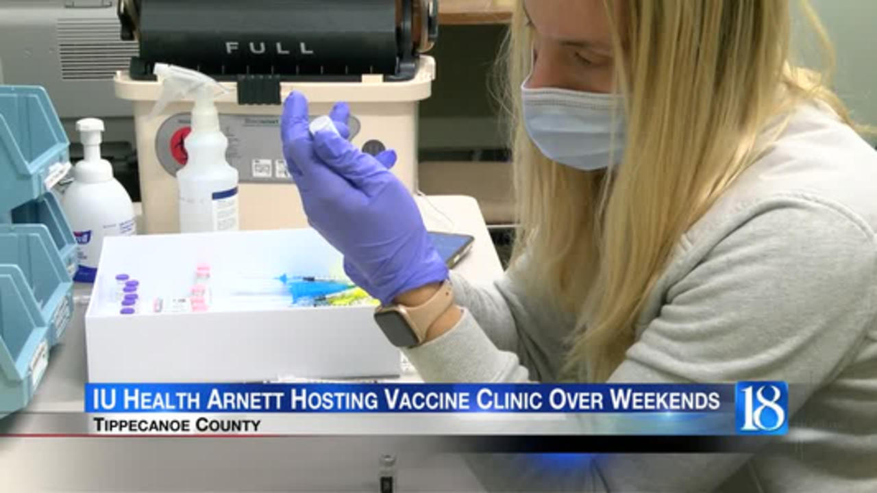 IU Health Arnett opening vaccine clinic over the next two weekends