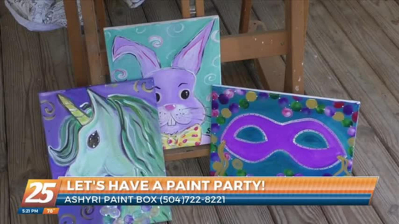 painty party