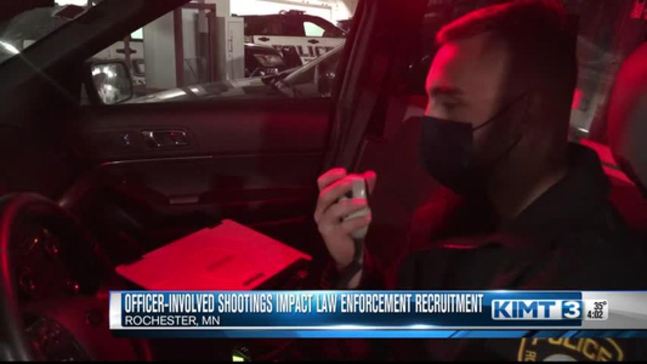 Decline In Officer Recruitment