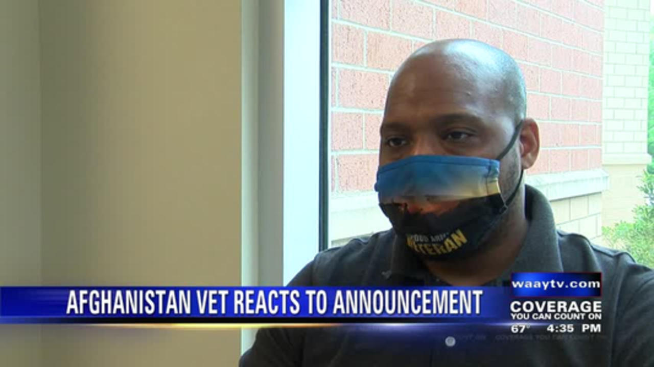 Afghanistan veteran reacts to President Biden's announcement
