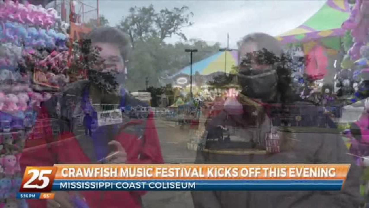 Crawfish Music Festival kicks off at the Coast Coliseum