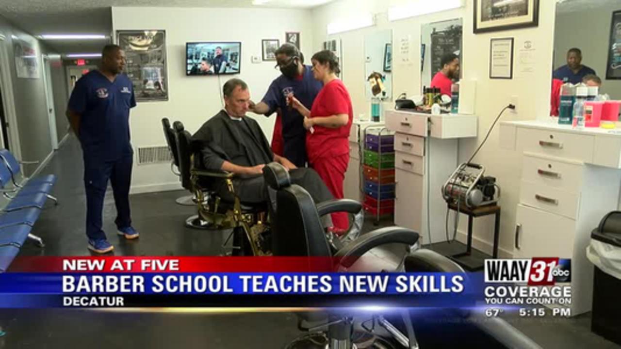 Barber School Teaches New Skills