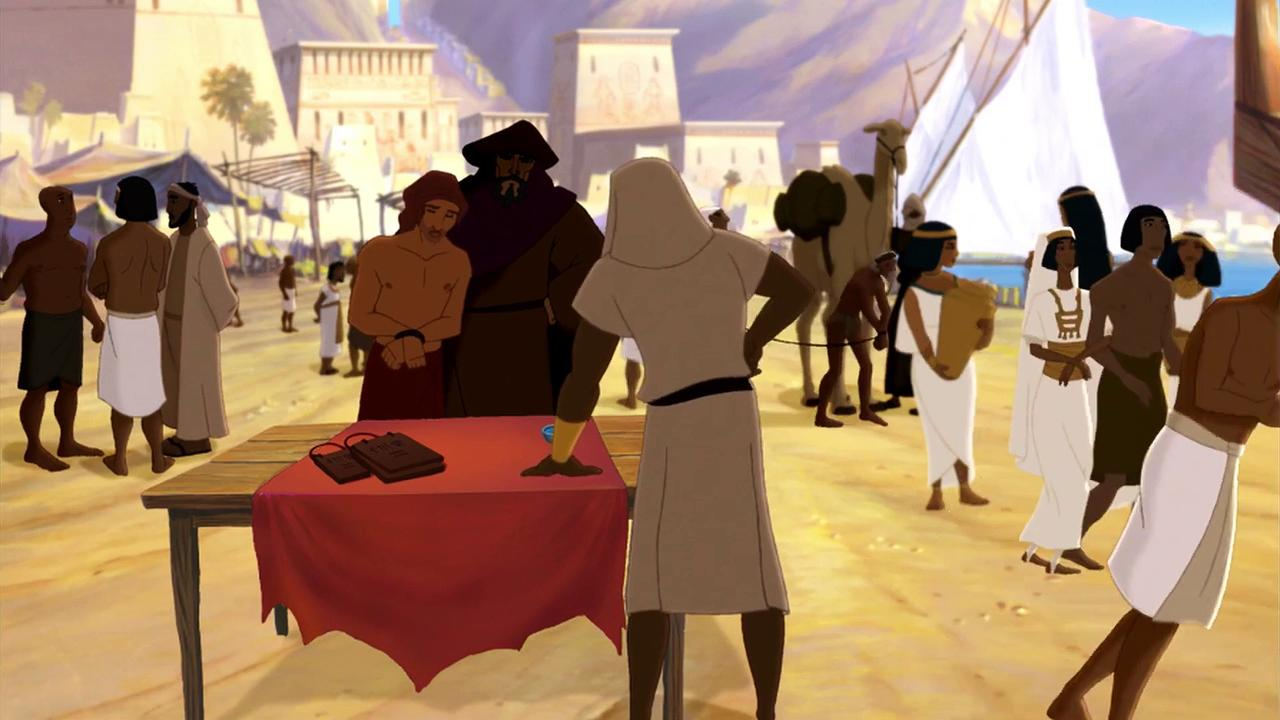 Joseph King of Dreams Movie Clip - Enslaved in Egypt