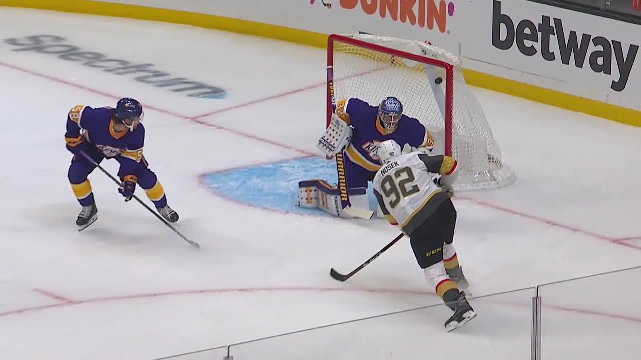 Los Angeles Kings vs. Vegas Golden Knights - Game Highlights