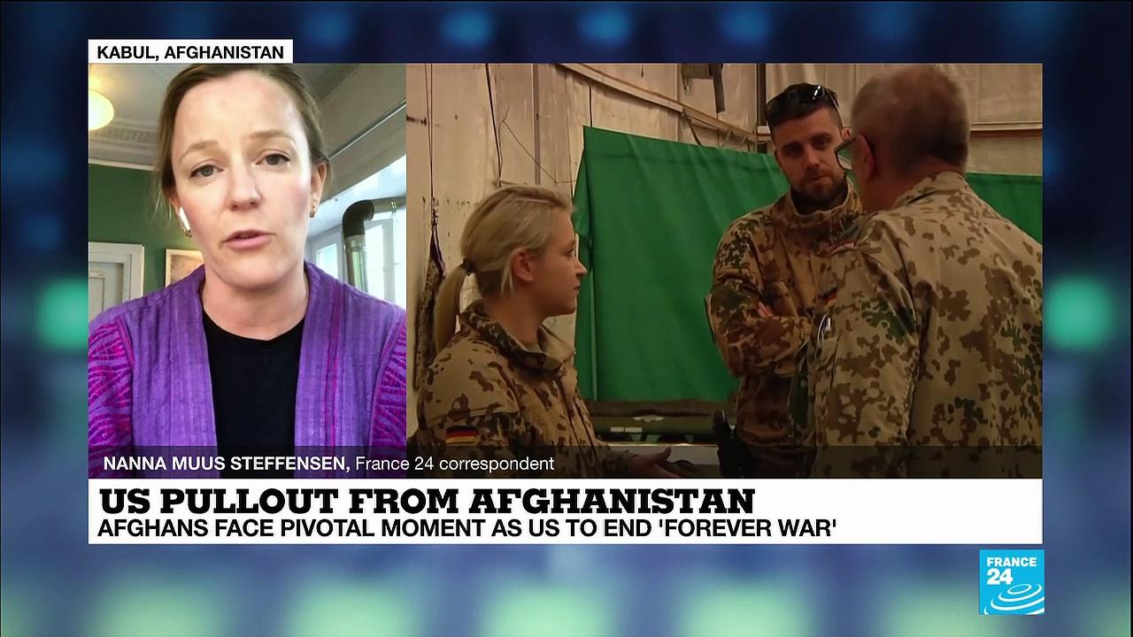 Afghan government reacts to US 'unconditional withdrawal' date